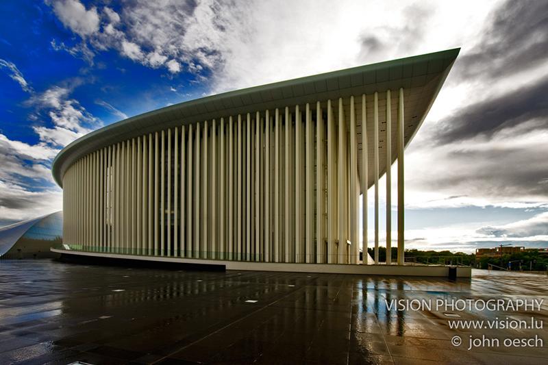 Photographe Architecture Luxembourg Philarmonie